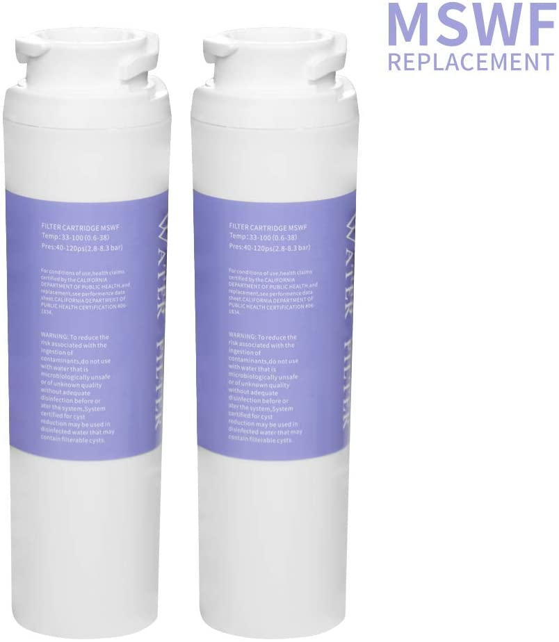 CLANORY MSWF Refrigerators Water Filter Replacement for GE Water Filter (2)