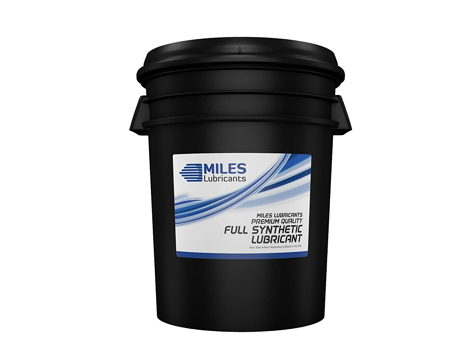 Miles Univ Comp Oil Rotary Compressor Fluid Full Synthethic Pao Based 5 Gallon Pail