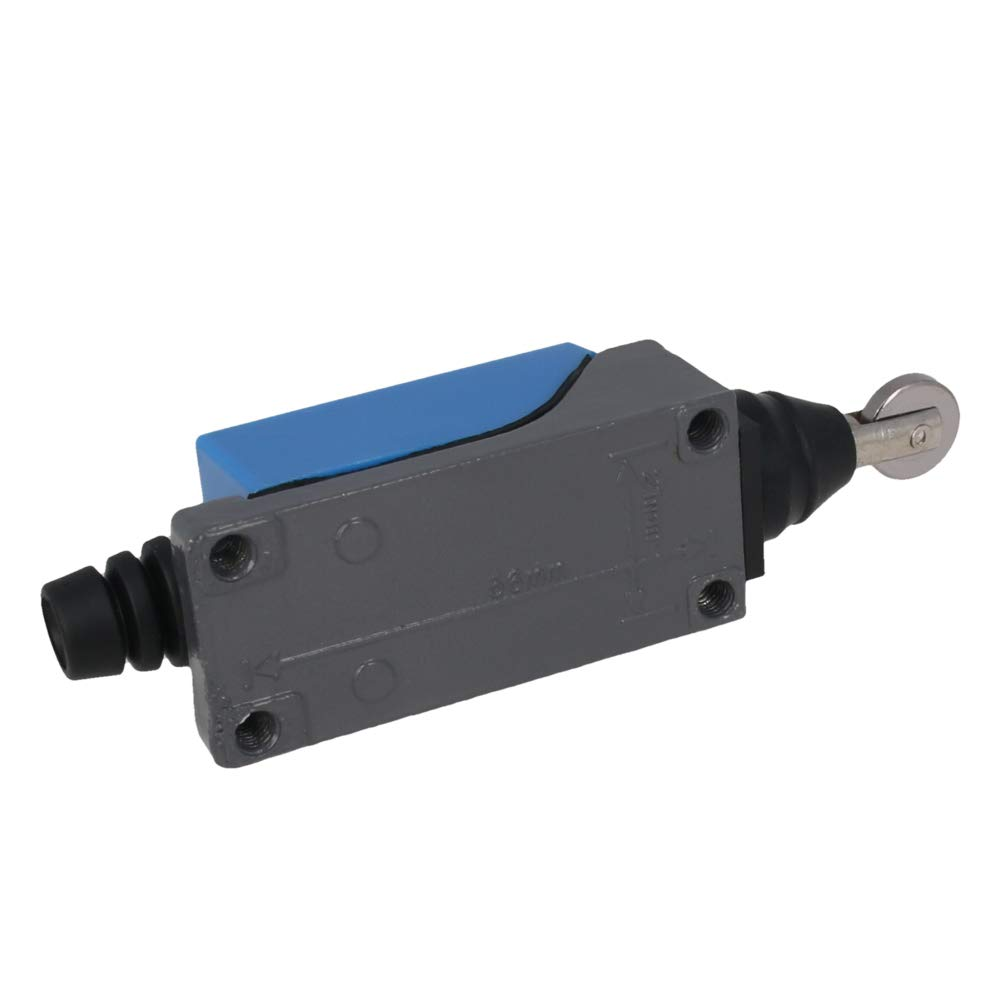 Fielect ME-8112 Roller Plunger Momentary Limit Switch 1NC+1NO 1Pcs for CNC Mill 3D Printer Door Switch
