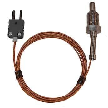 Digi-Sense Type-J Pipe Plug Probe SS 1/4