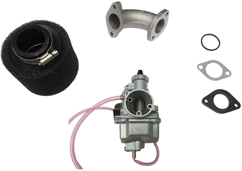 VM22 Carburetor 26mm Carb +38mm Air Filter Intake Fit 110cc 125cc 140cc Pit Bike