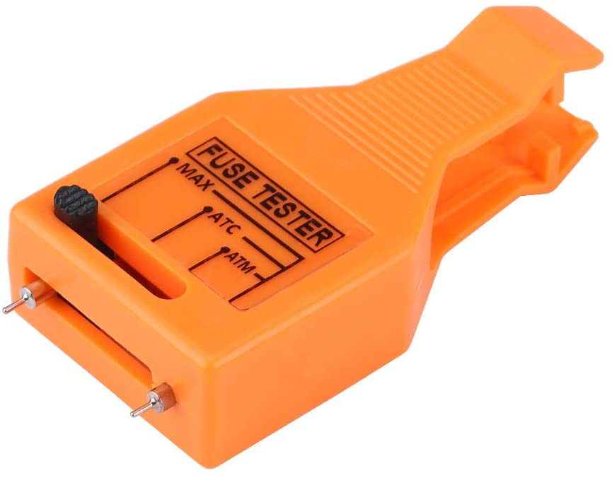 Qiilu Multi-functional Automotive Blade Fuse Checker Tester, Tube Fuse Puller Removal Tool
