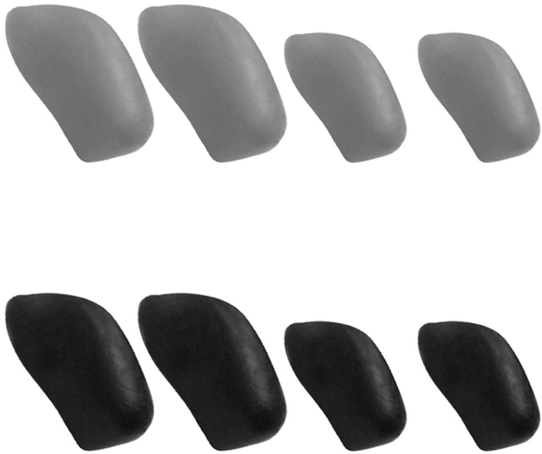 Galvanic Replacement Nosepads for Oakley Flak Jacket/Flak Jacket XLJ - Multiple Choices