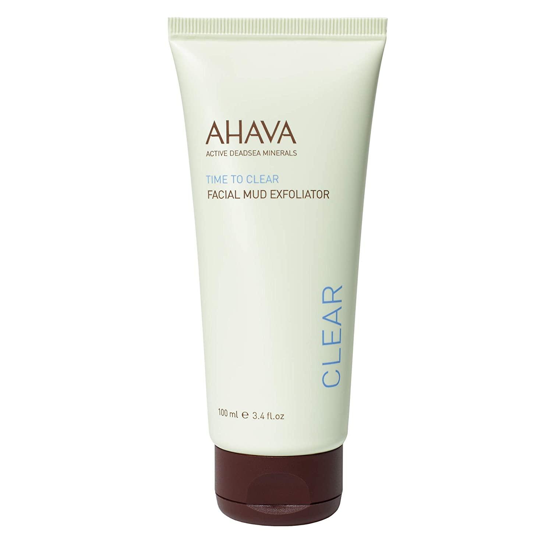 AHAVA Facial Mud Exfoliator, 3.4 Fl Oz