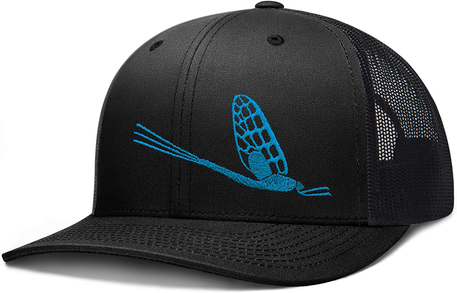 LARIX GEAR Fly Fishing Trucker Hat, The Mayfly