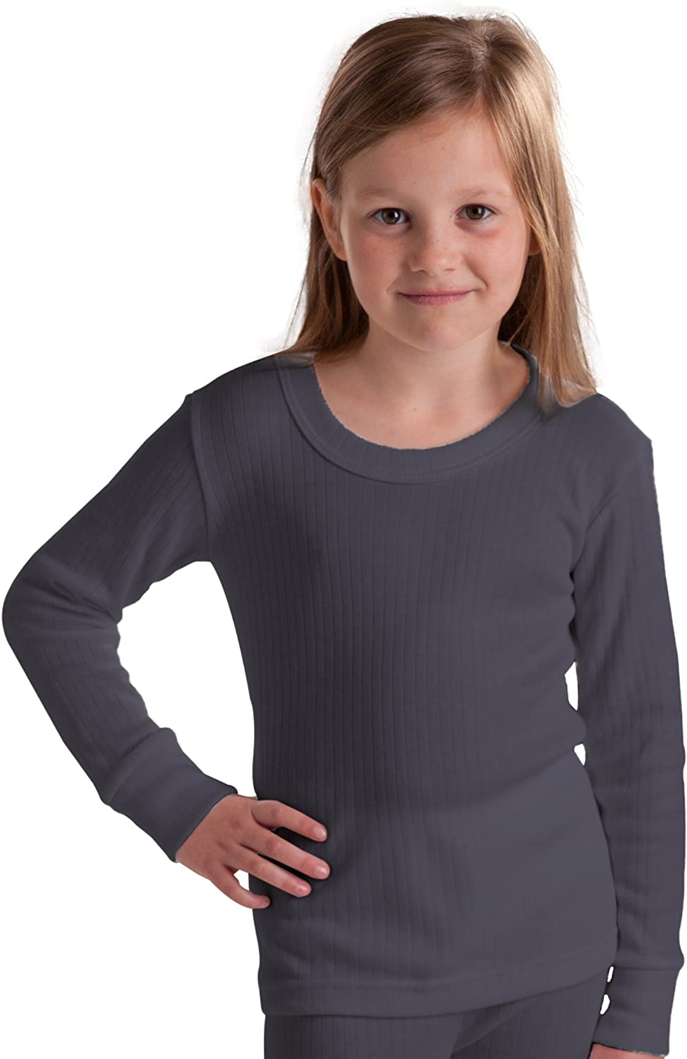 Octave British Made Girls Thermal Long Sleeved T-Shirt (Extra Warm)