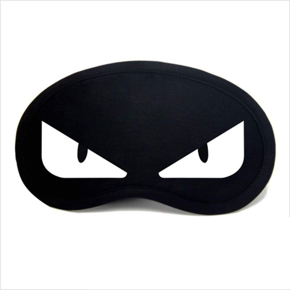 WOJWSKI Sleep Mask for Men and Women with Adjustable Eyeshade Ultralight Night Blindfold(White)