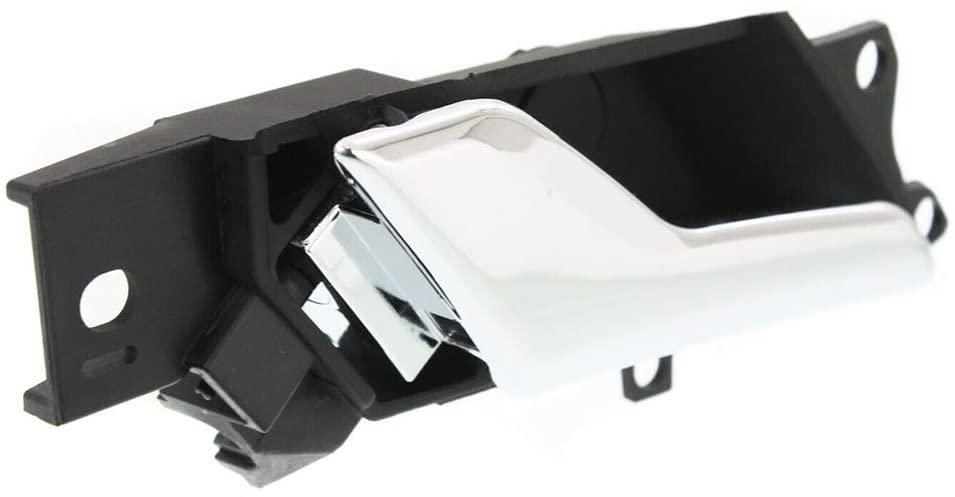Cheriezing 20983660 Left Inner Door Handle Compatible with Chevy Captiva Sport 12-15 Saturn Vue Hybrid 2009