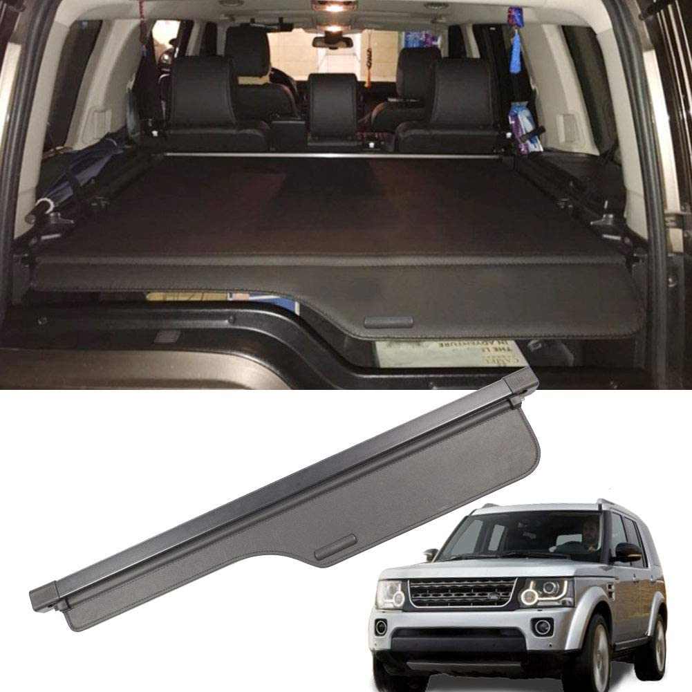 MarretooAuto Factory Style Tonneau Covers Fits Land Rover LR 3 LR 4 Security Shield Trunk Cover