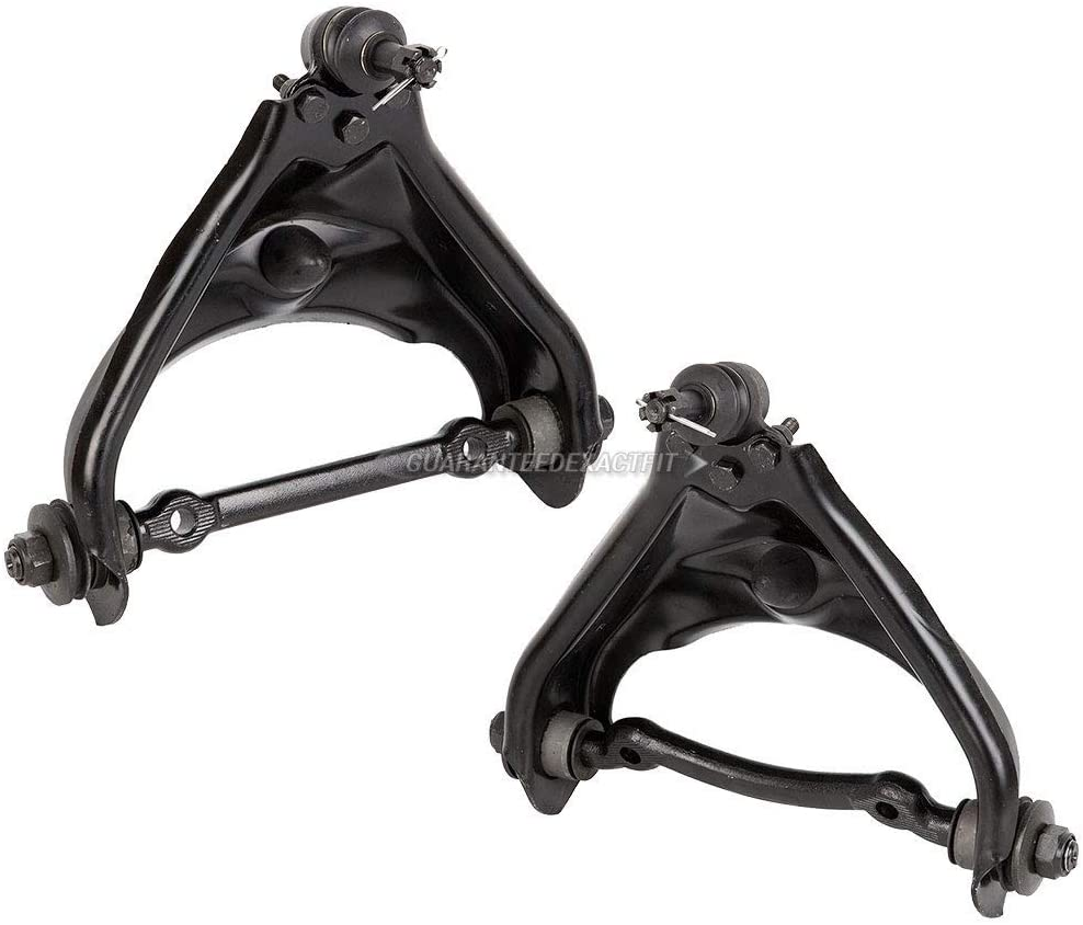 Pair Front Left & Right Upper Control Arms w/Bushings & Ball Joints For Dodge Durango & Dakota 2WD - BuyAutoParts 93-80949K1 New