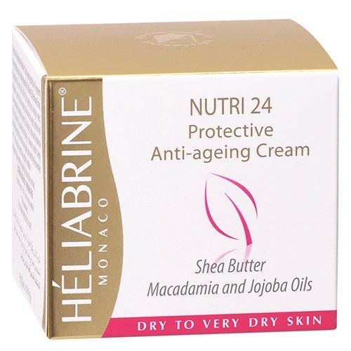 Heliabrine Nuntri 24 Cream With Shea Butter, Macadamia and JoJoba Oils, For Dry to Very Dry Skin, 50 ml