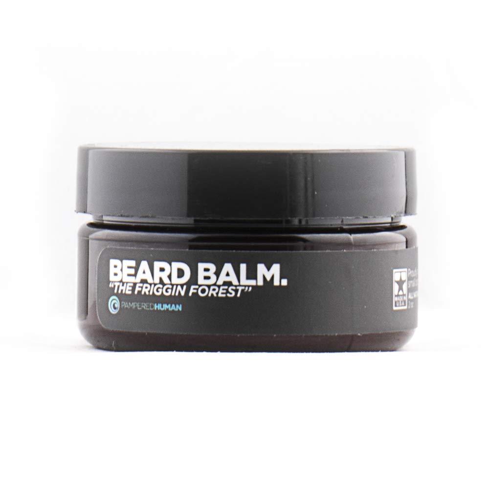Beard Balm for Men - The Friggin Forest - Natural Citrus Pine (2 oz)