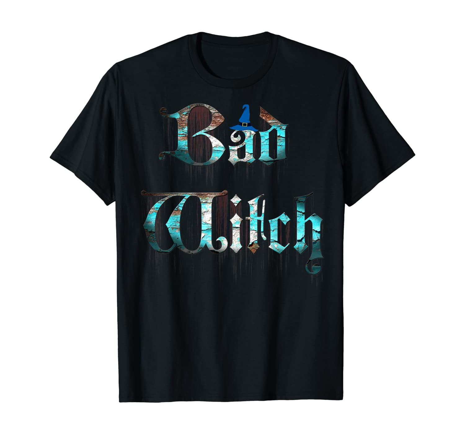 Bad Witch - Spooky Bloody Halloween Witch Costume T-Shirt