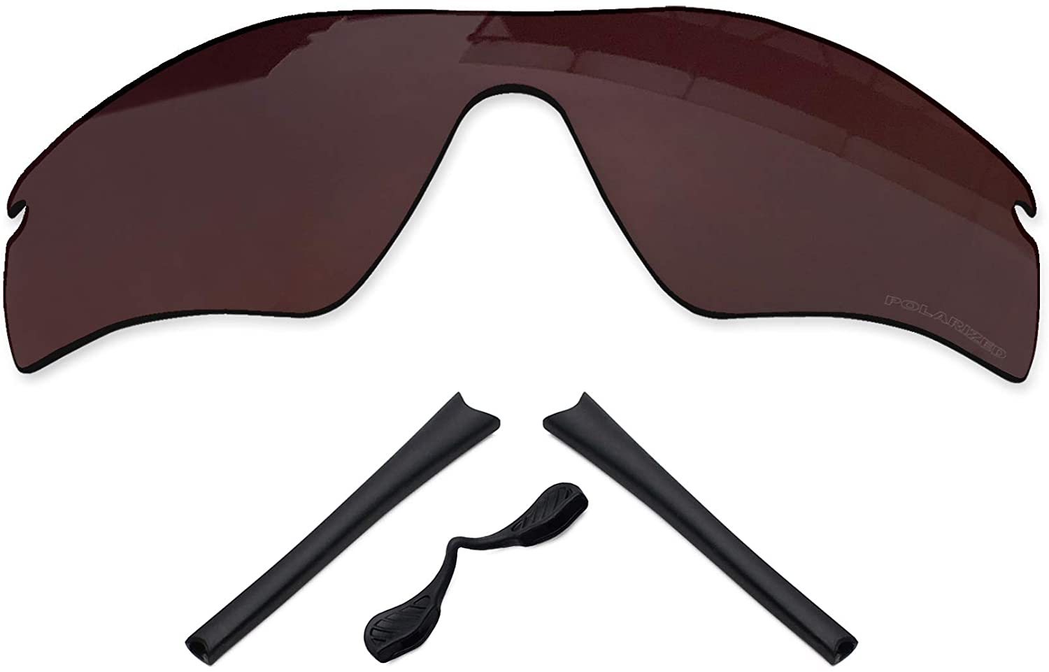 TheSturdy Polarized Stamped Lenses Replacement & Rubber Kits for Oakley Radar Path - Multiple Options