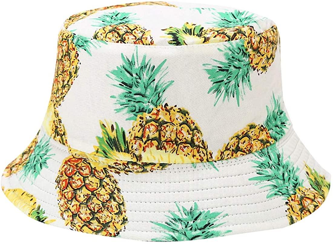 Bucket Hat Packable Summer Travel Reversible Bucket Fisherman Sun Hat