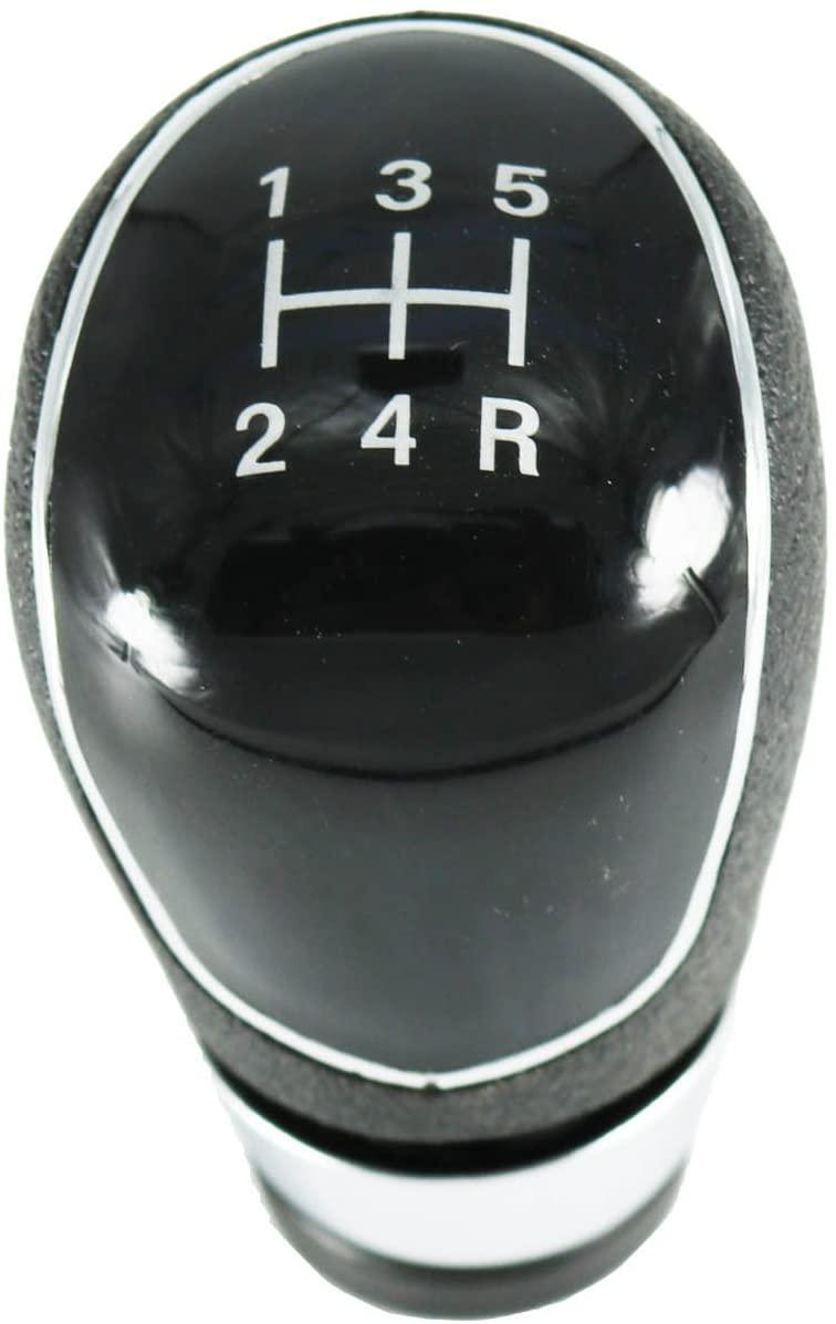 kangbeier 5 Speed Gear Shift Knob for Ford Focus Fiesta 2008-2013 C-Max 2007-2013 B-Max 2012- Kuga 2008-2013