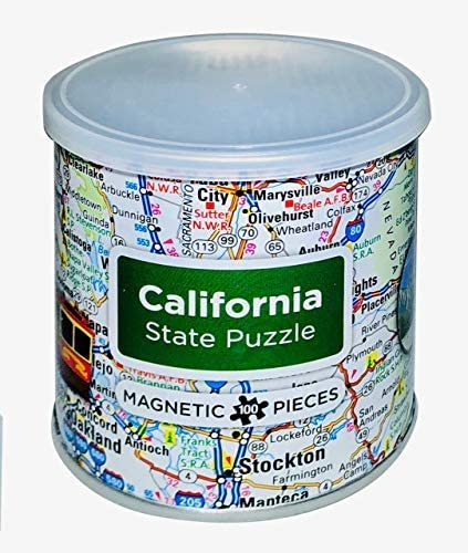 Geotoys, Puzzle Magnetic California