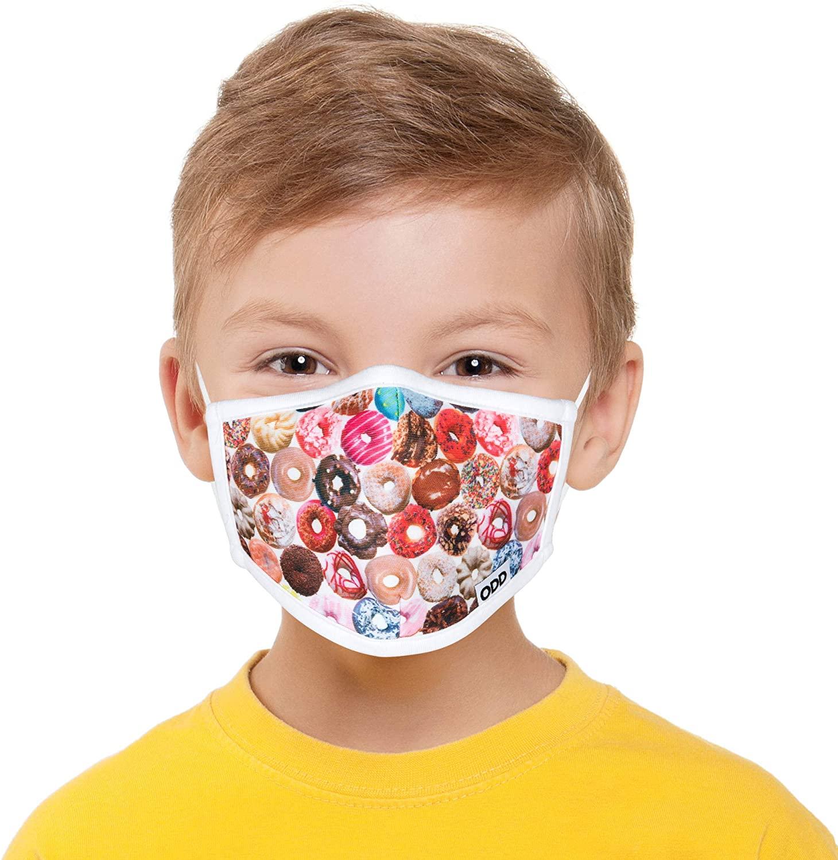 Odd Masks, Kids, Graphic, Fun Unique, Designer Face Mask, Reusable Breathable Fashion