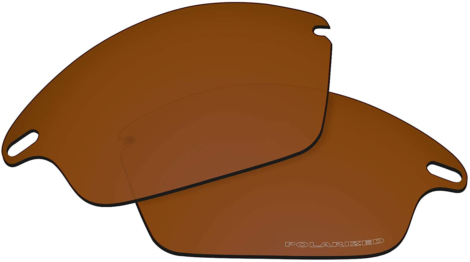 OOWLIT Replacement Lenses Compatible with Oakley Fast Jacket Sunglass