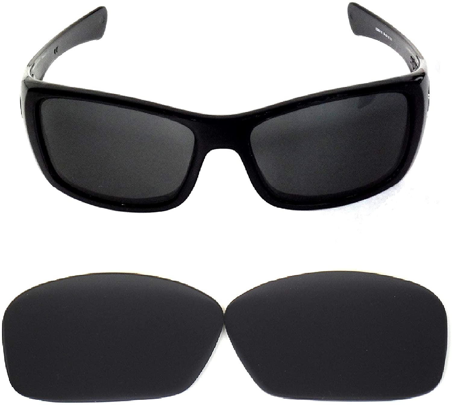 Galaxy Replacement Lenses for Oakley Hijinx Sunglasses Black Color Polarized,
