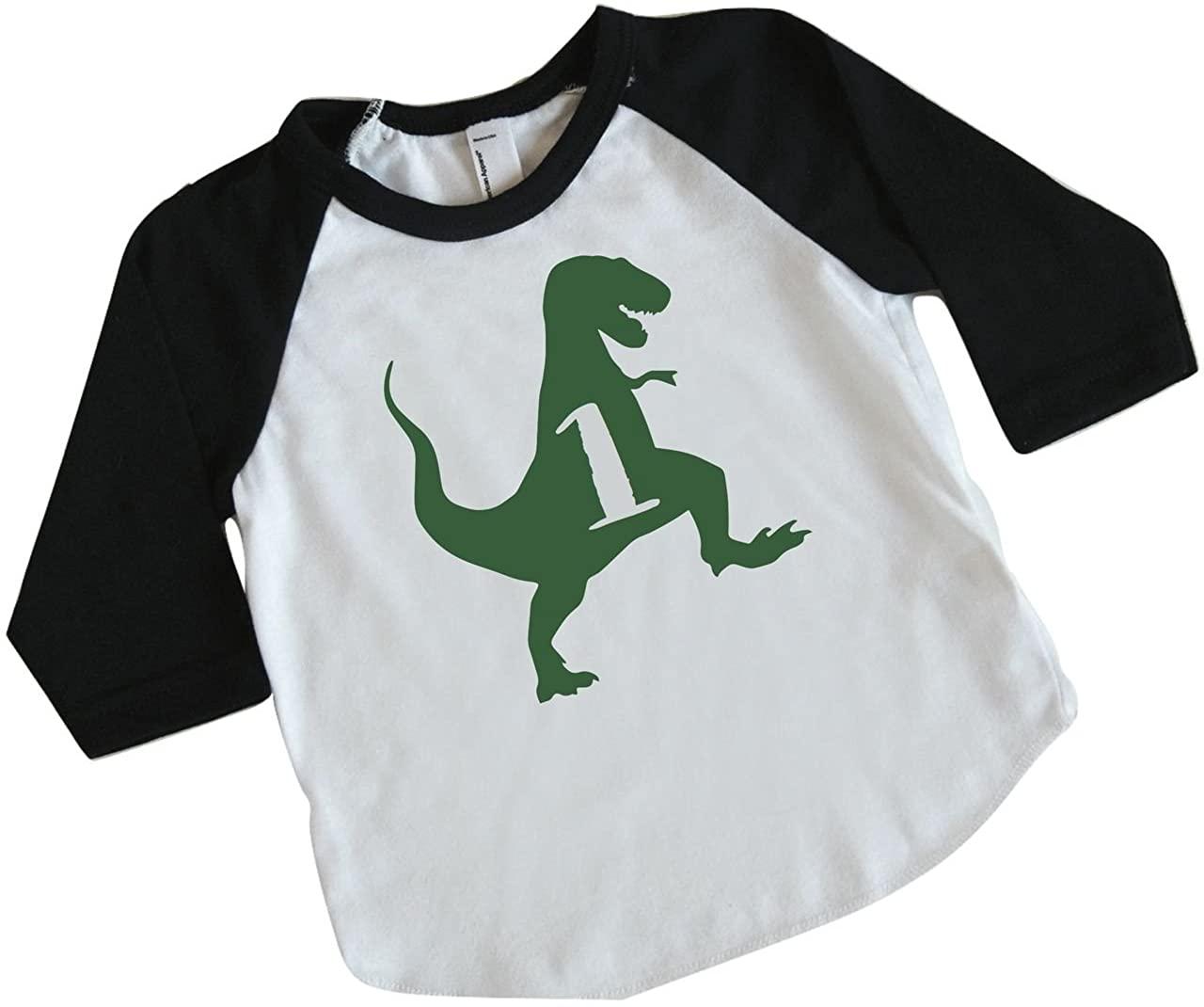 Bump and Beyond Designs Dinosaur Birthday Shirt Boy 1st Birthday Outfit Dino Birthday
