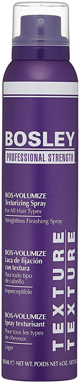 Bosley Professional Strength BOS Volumize Texturizing Spray, 6 oz