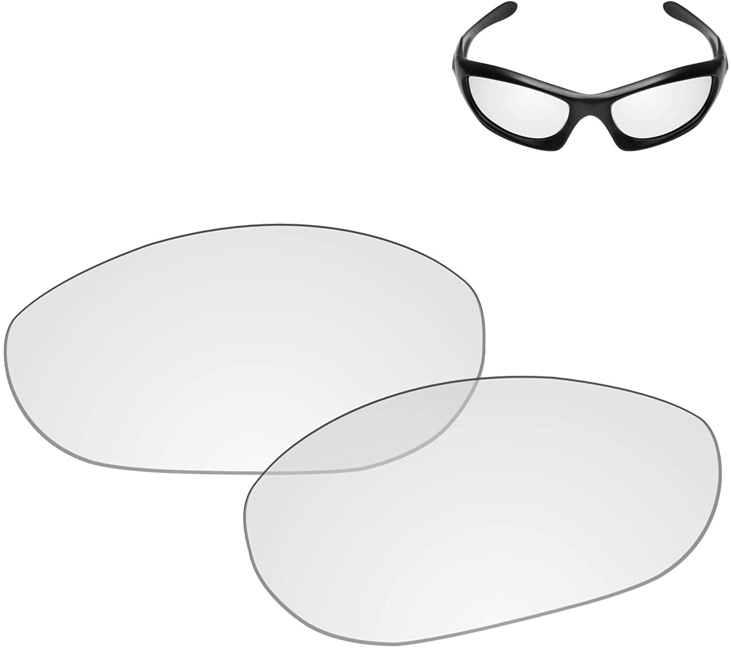 Galvanic Replacement Lenses for Oakley Monster Dog Sunglasses - Multiple Choices