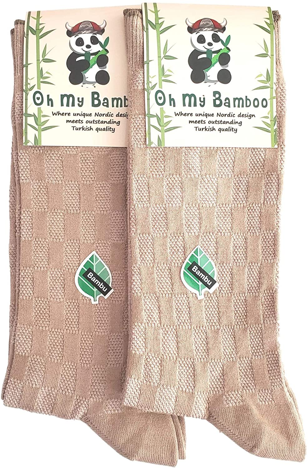Oh My Bamboo Mens Bamboo Socks Luxury Seamless Textured Dress Socks Made From Luxurious Turkish Bamboo Yarn