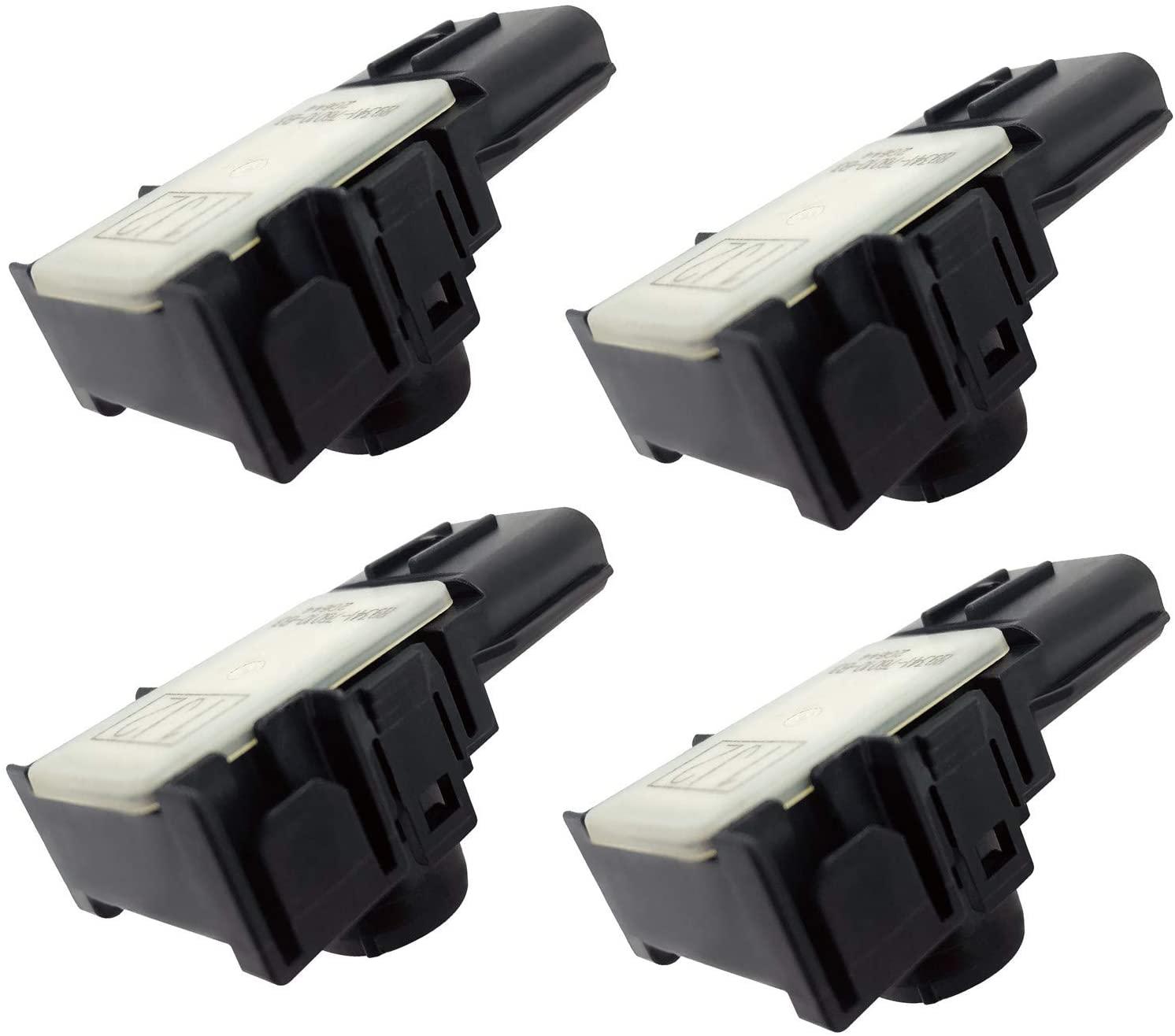4 Pcs GzYcsFocusqp Ultrasonic Parking Sensor Reversing Radar Compatible for Lexus CT200H GS450 GS350 89341-76010-B3 89341-76010-A0