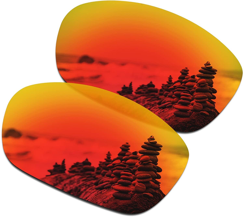 SmartVLT Men's Replacement Lenses for Oakley Ten X OO9128 Sunglass - More Options