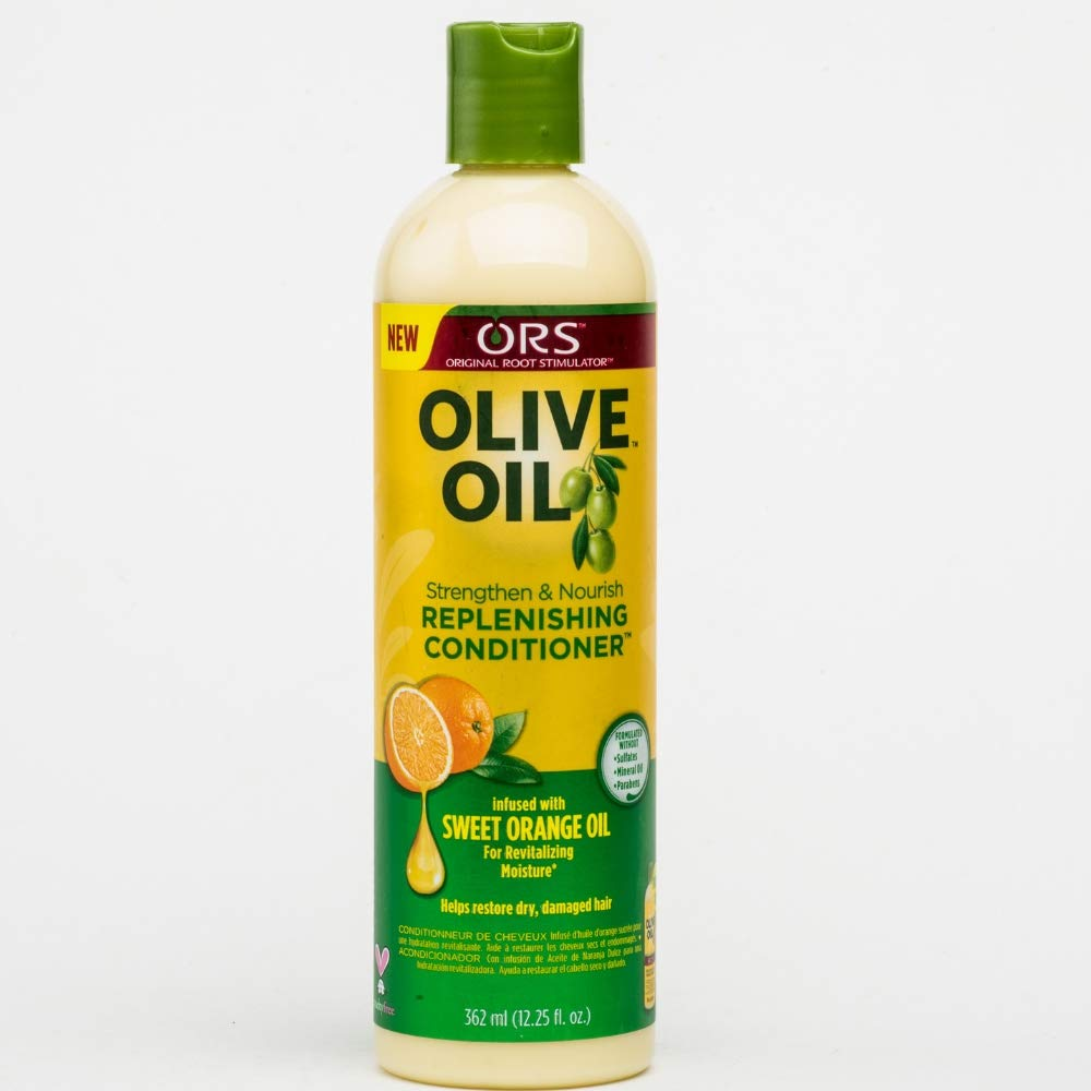 ORS Olive Oil Strengthen and Nourish Replenishing Conditioner 12.25 oz (Pack of 12)