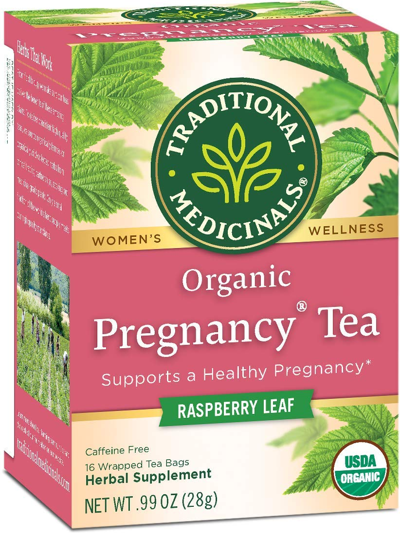 Traditional Medicinals Herb Tea Organic Pregnancy 16 bag ( Value Bulk Multi-pack)