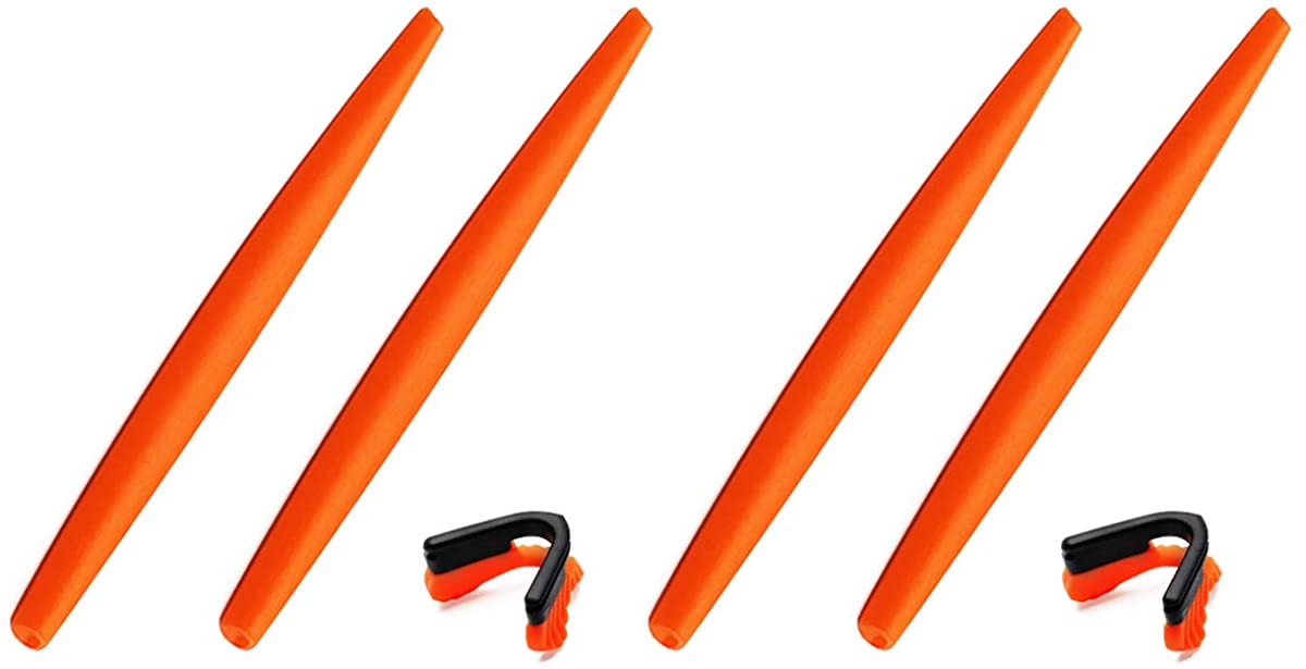 2 Pairs Replacement Rubber Kit for Oakley M Frame Heater/Hybrid/Strike/Sweep