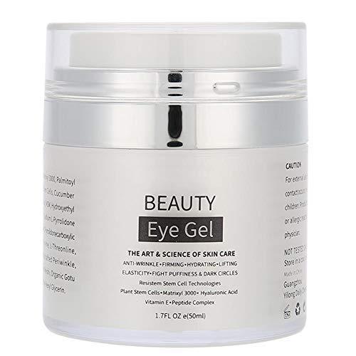 Eye Gel, 50ml Moisturizing Gel Anti-Aging Anti-Wrinkles Eye Care Gel Eye Beauty Cream for Wrinkles, Dark Circles, Eye Bag Removal