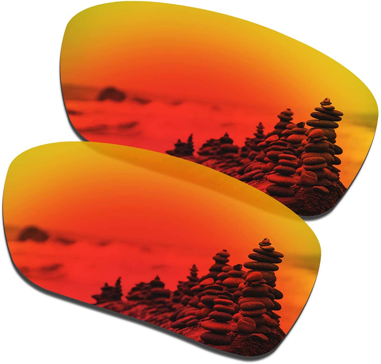 SmartVLT Men's Replacement Lenses for Oakley Si Ballistic Det Cord sunglass - 12 Options