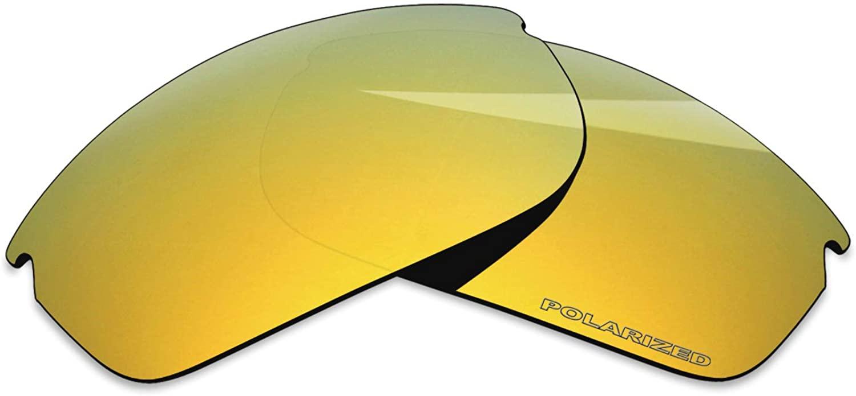 BlazerBuck Anti-salt Polarized Replacement Lenses for Oakley Commit SQ OO9086 Sunglass