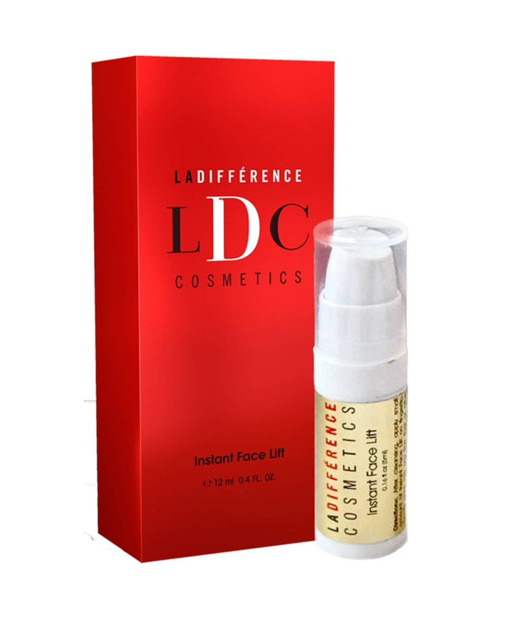 LA DIFFÉRENCE LDC COSMETICS Luxury Instant Face Lift Travel Size - Best Face & Neck Firming Lotion, Smoothes Wrinkles and Fine Lines - by La Différence Cosmetics