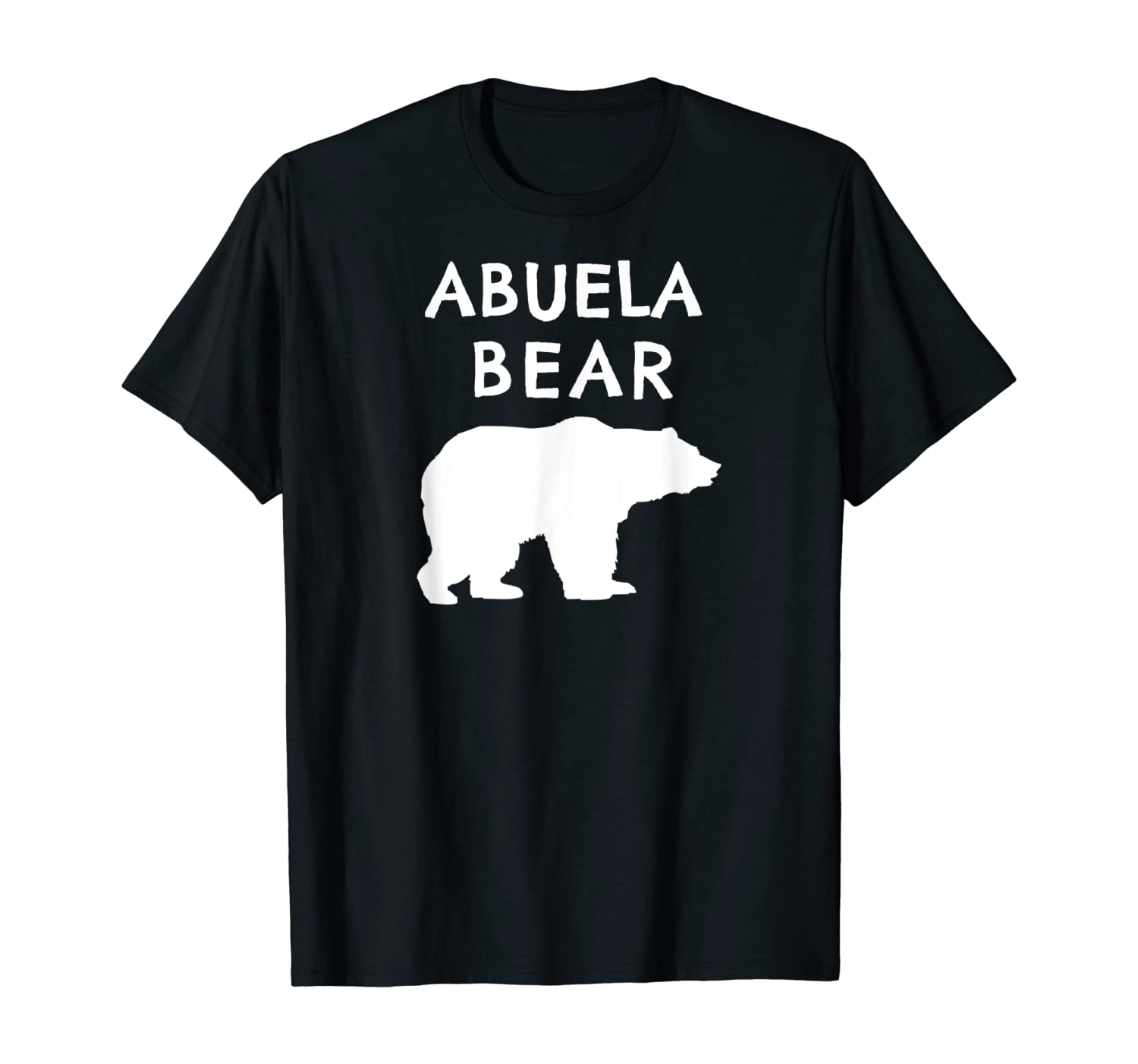 Abuela Bear Shirt Bear Gifts For Grandma Grandparents Shirts T-Shirt
