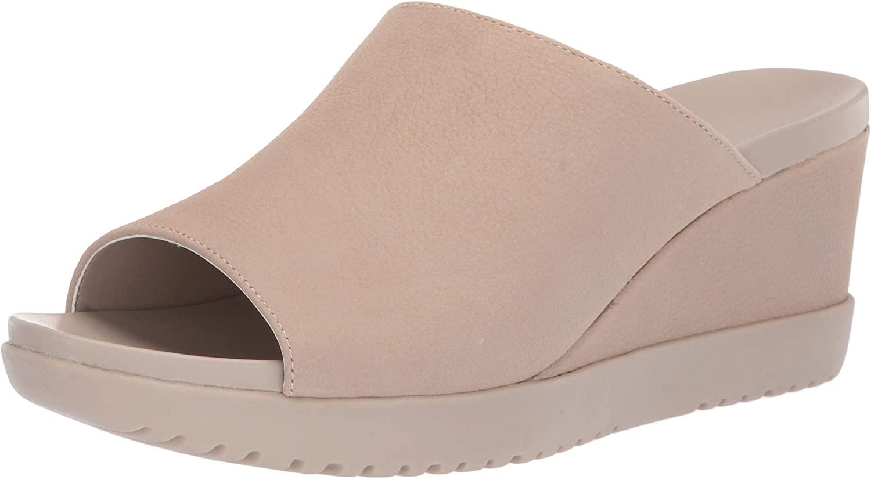 Aerosoles Womens Blonde Wedge Sandal