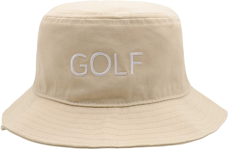 Bucket Hat Summer Travel Bucket Beach Sun Hat Unisex Classic Embroidery Visor Outdoor Cap