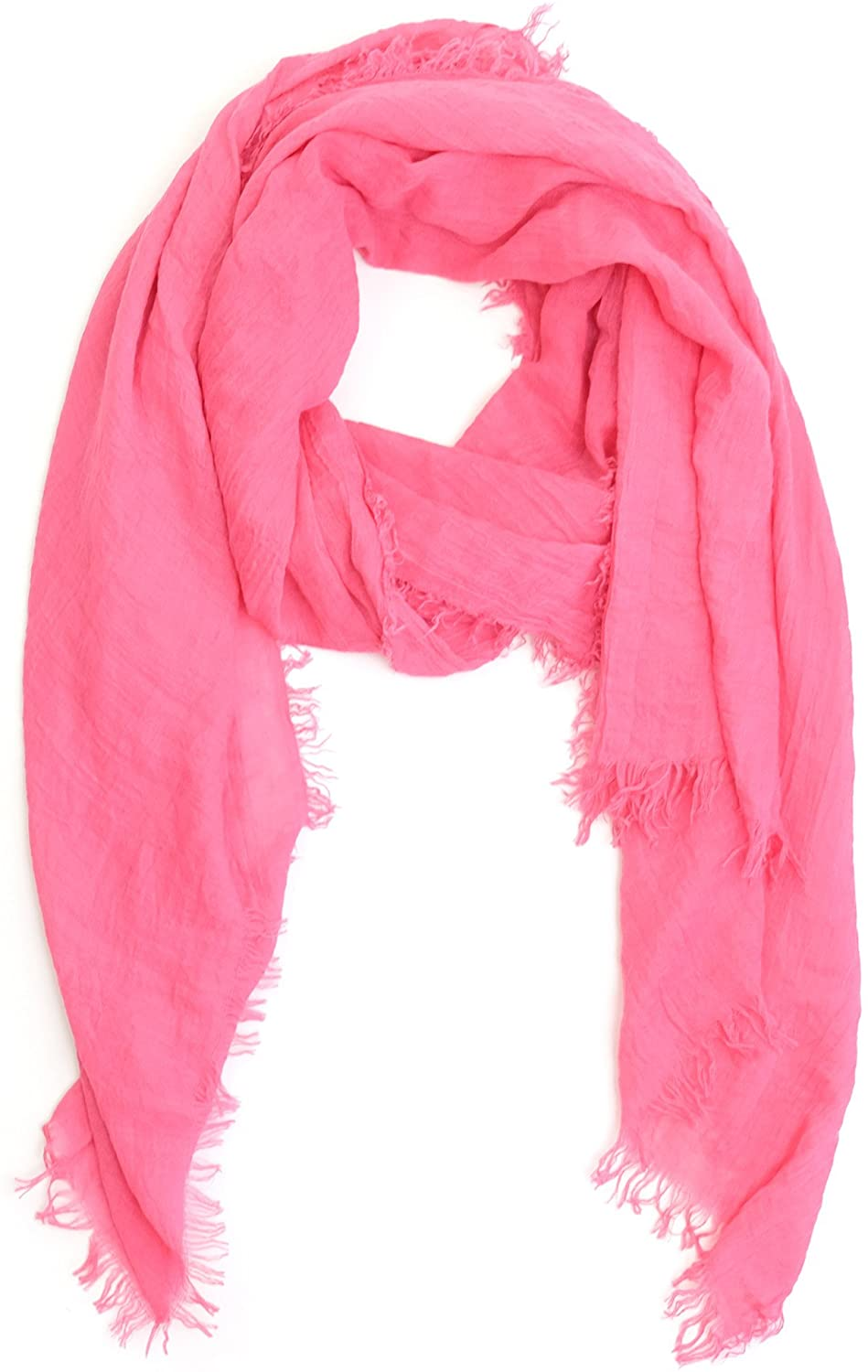Scarfs for Women Fashion Lightweight Fall Winter Solid Colors Wrap Shawl