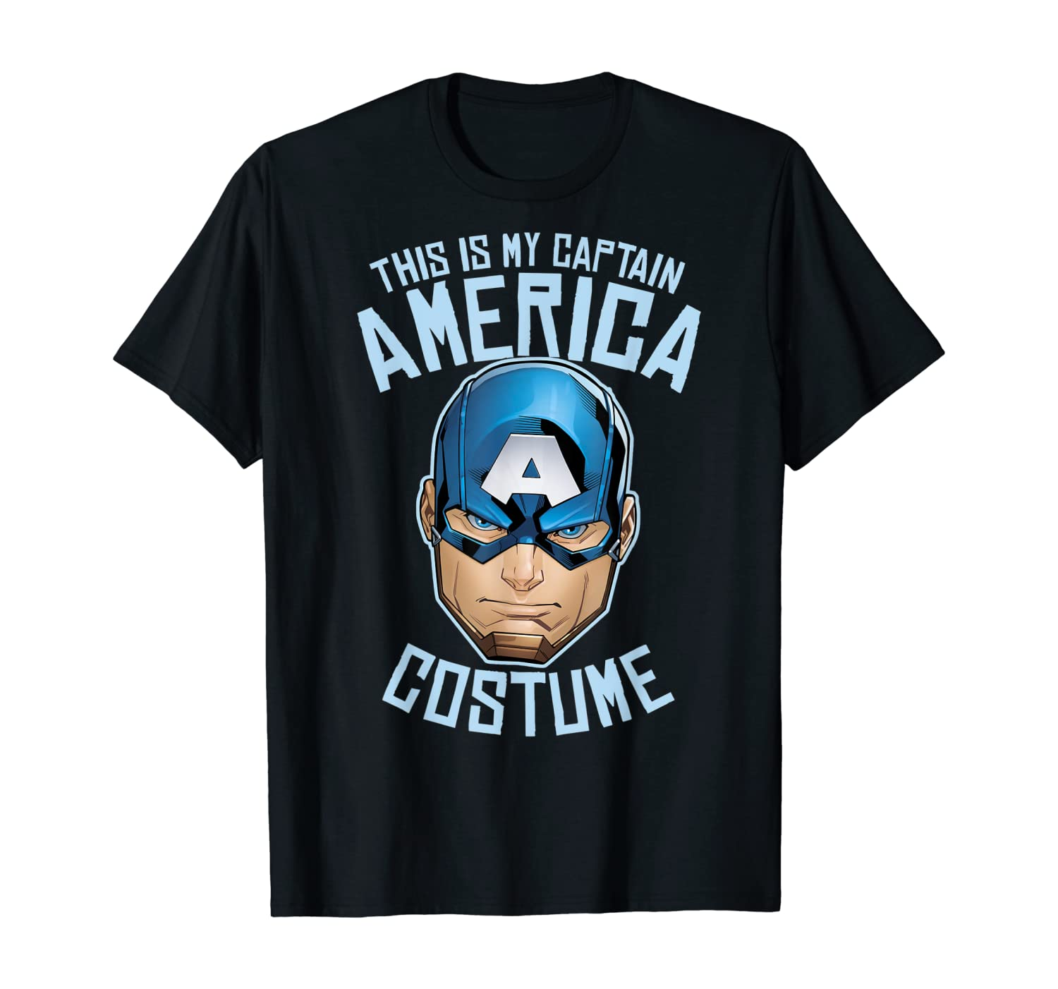 Marvel Captain America This Is My Costume T-Shirt