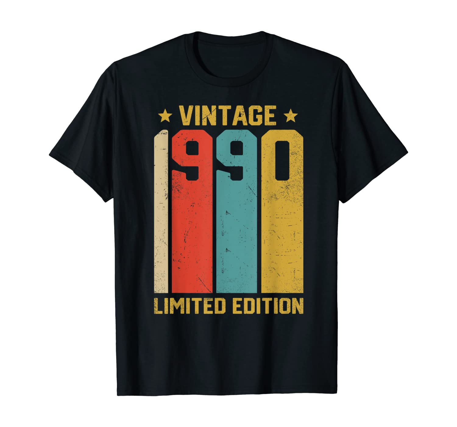 Gifts for 30 Year Old 30th Birthday Limited Edition 1990 T-Shirt