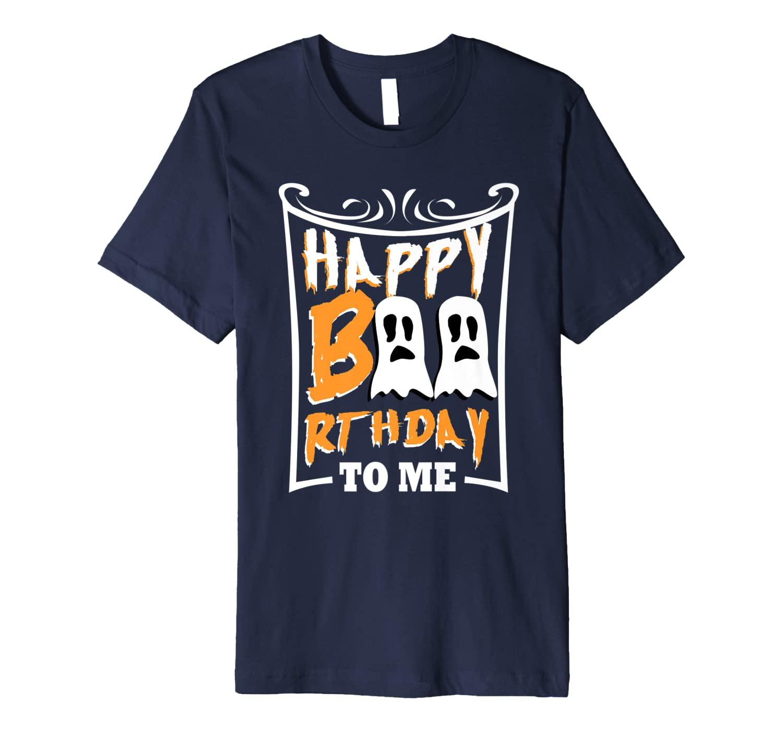 Halloween Birthday Gift Idea Funny 21st 30th Bday Present Premium T-Shirt