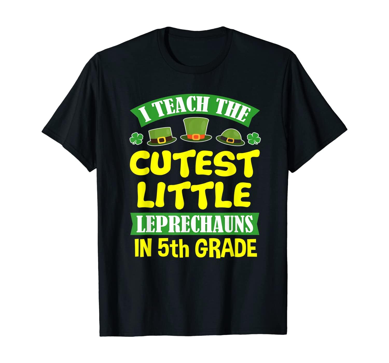 St Patrick Day Tshirts Teacher 5th Grade Men Women School T-Shirt