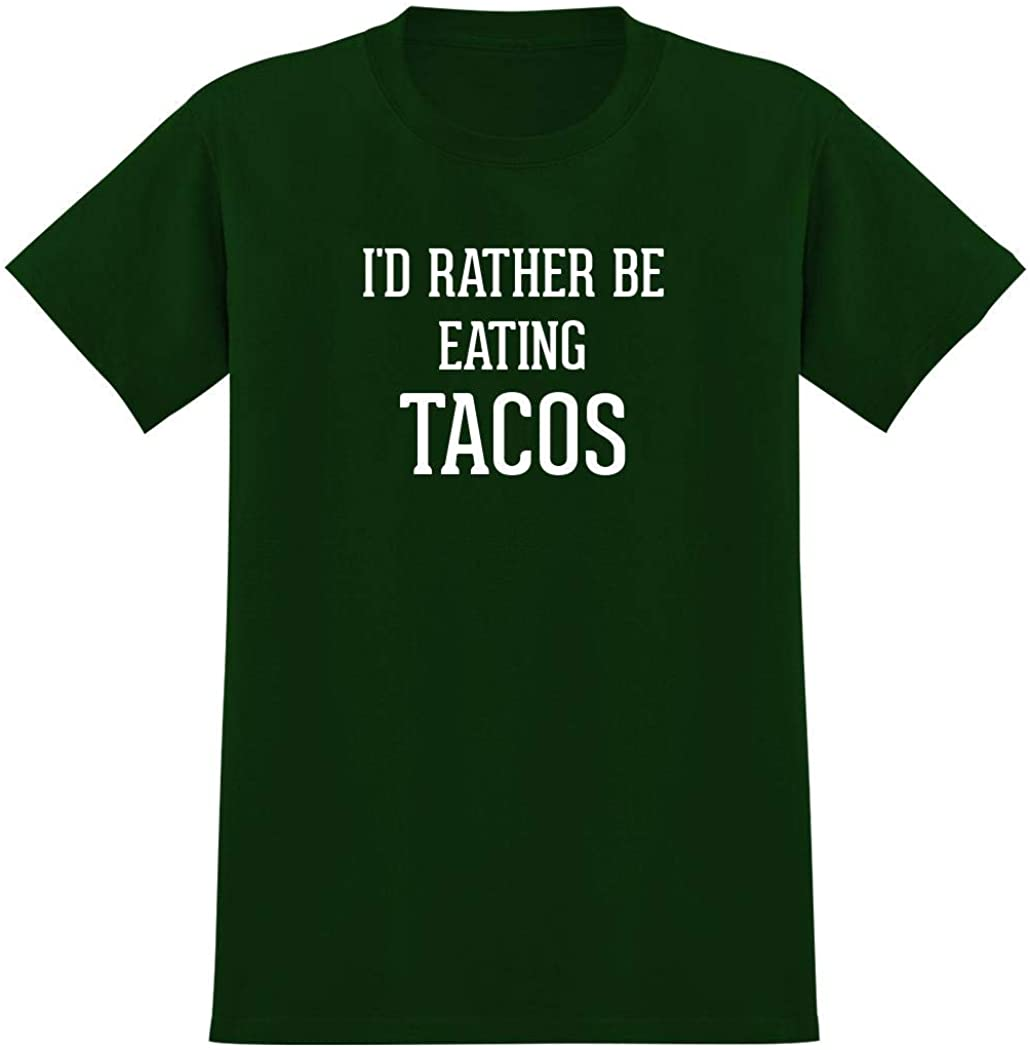 I'd Rather Be Eating TACOS - Men's Graphic Tee T-Shirt