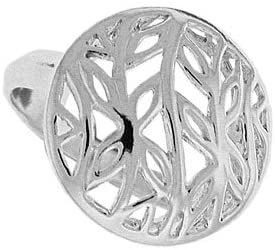 Boma Jewelry Sterling Silver Round Vine Ring