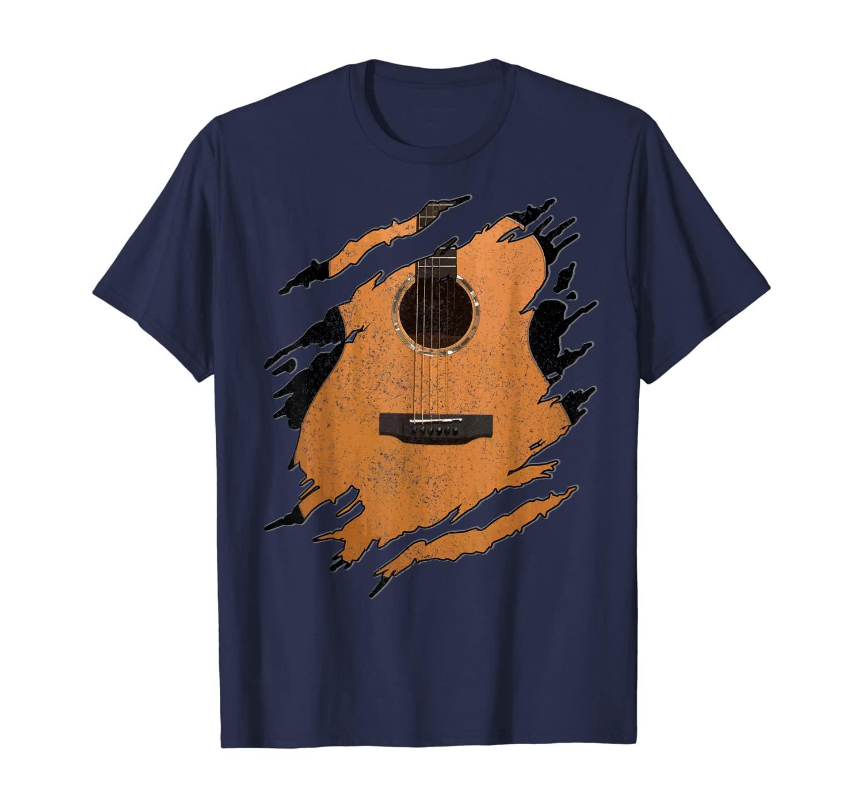 Guitar - Acoustic Music Guitarist Musician Gift T-Shirt