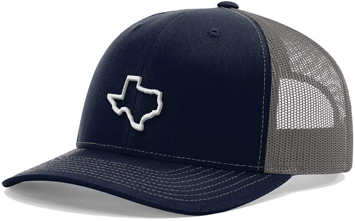 USAMM Texas Team Pride Snapback Richardson Trucker Hat