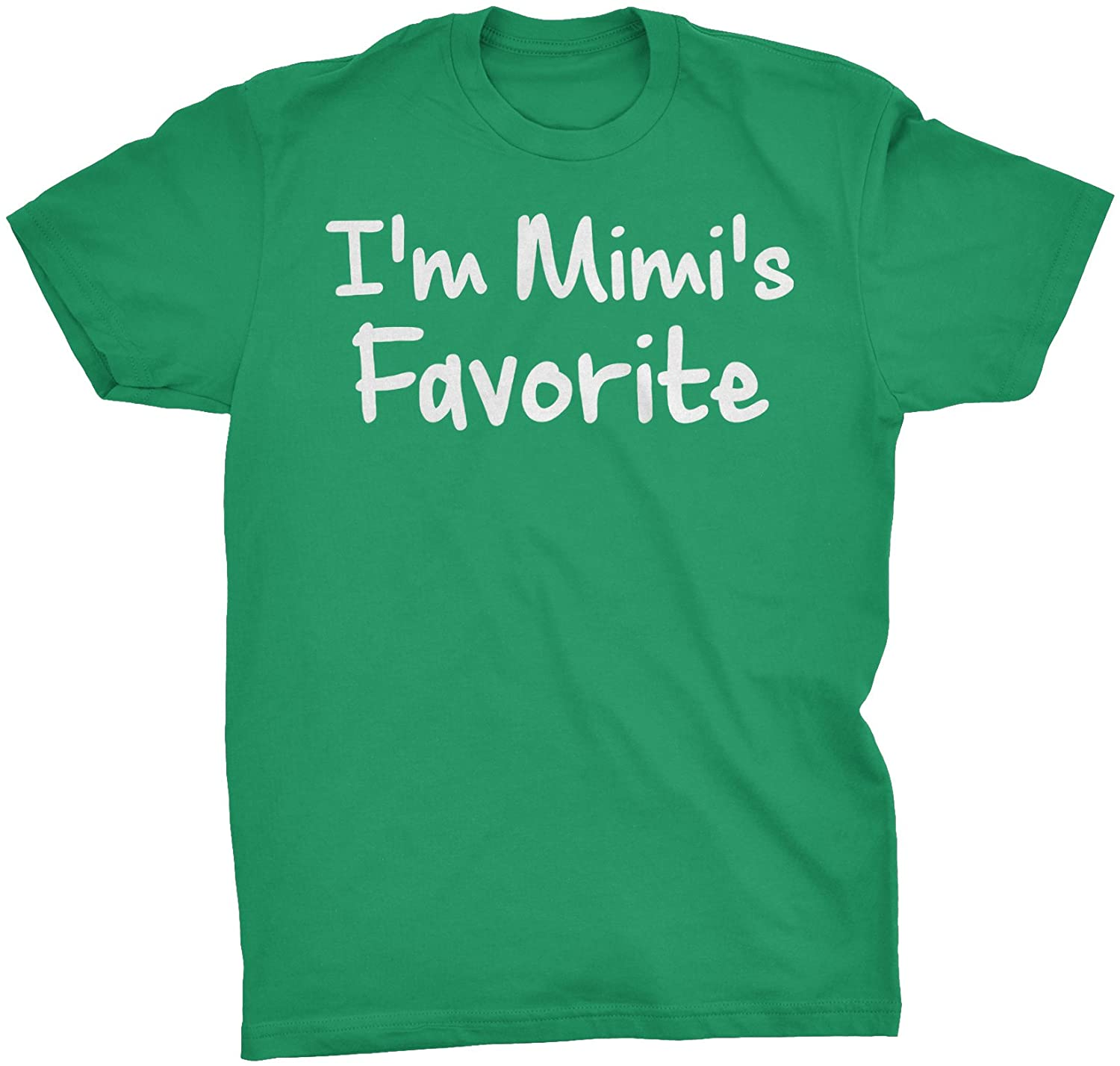 Mothers Day Grandma Gift T-Shirt - I'm Mimi's Favorite